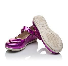 Детские туфлі Woopy Orthopedic розовые для девочек искуственный лак размер 21-21 (2034) Фото 2