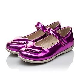 Детские туфлі Woopy Orthopedic розовые для девочек искуственный лак размер 21-21 (2034) Фото 3