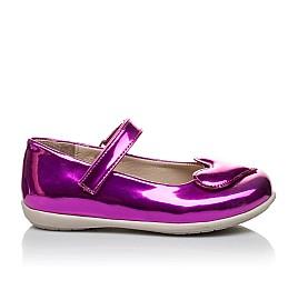 Детские туфлі Woopy Orthopedic розовые для девочек искуственный лак размер 21-21 (2034) Фото 4
