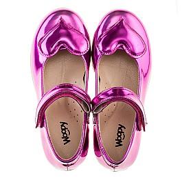Детские туфлі Woopy Orthopedic розовые для девочек искуственный лак размер 21-21 (2034) Фото 5
