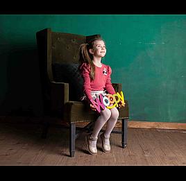 Детские туфли Woopy Orthopedic золотые для девочек натуральная кожа / лаковая кожа размер 21-23 (2036) Фото 6