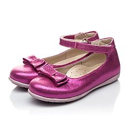 Детские туфлі Woopy Orthopedic розовые для девочек современный текстиль размер 21-21 (2046) Фото 3