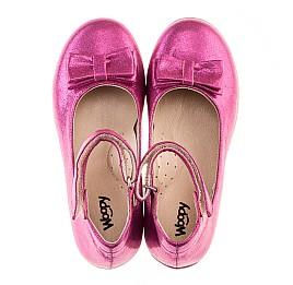 Детские туфлі Woopy Orthopedic розовые для девочек современный текстиль размер 21-21 (2046) Фото 5