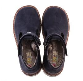Детские туфли Woopy Orthopedic темно-синие для мальчиков натуральный нубук размер 21-21 (2050) Фото 5