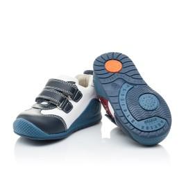 Детские кроссовки Woopy Orthopedic синие, белые, красные для мальчиков натуральная кожа размер 18-18 (2089) Фото 2
