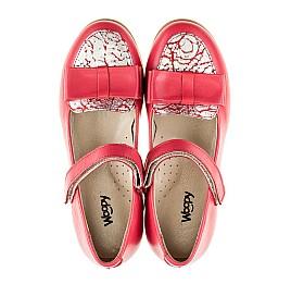 Детские туфлі Woopy Orthopedic коралловые для девочек натуральная кожа размер 26-26 (2102) Фото 5