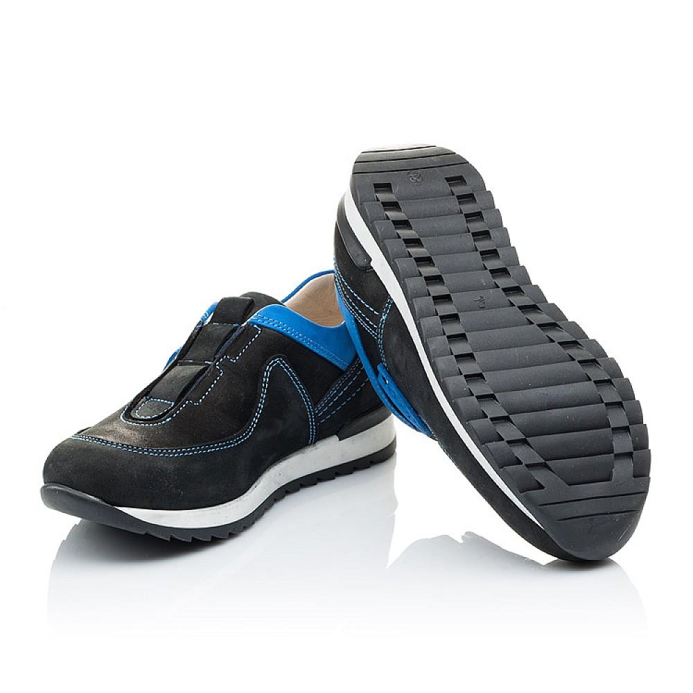 Детские кроссовки Woopy Orthopedic синие для мальчиков натуральный нубук размер 26-35 (2130) Фото 2