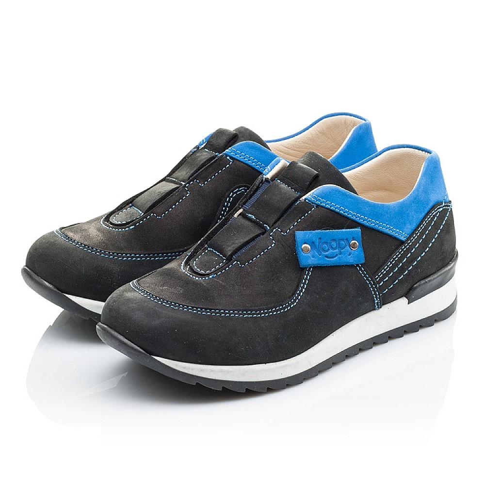 Детские кроссовки Woopy Orthopedic синие для мальчиков натуральный нубук размер 26-35 (2130) Фото 3