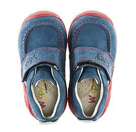 Детские мокасины Woopy Orthopedic синие для девочек натуральный нубук размер 18-18 (2145) Фото 5