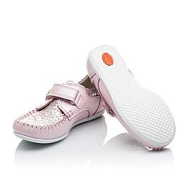 Детские мокасины Woopy Orthopedic нежно-розовый для девочек натуральная кожа размер 23-24 (2150) Фото 2