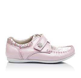 Детские мокасины Woopy Orthopedic нежно-розовый для девочек натуральная кожа размер 23-24 (2150) Фото 4