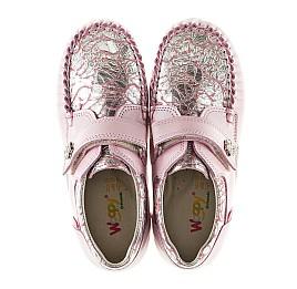 Детские мокасины Woopy Orthopedic нежно-розовый для девочек натуральная кожа размер 23-24 (2150) Фото 5