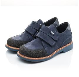 Детские туфли Woopy Orthopedic синие для мальчиков натуральный нубук размер - (2160) Фото 3