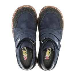 Детские туфли Woopy Orthopedic синие для мальчиков натуральный нубук размер - (2160) Фото 4