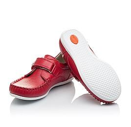 Детские мокасины Woopy Orthopedic красные для девочек натуральная кожа размер 23-23 (2173) Фото 2