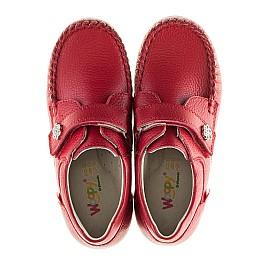 Детские мокасины Woopy Orthopedic красные для девочек натуральная кожа размер 23-23 (2173) Фото 5