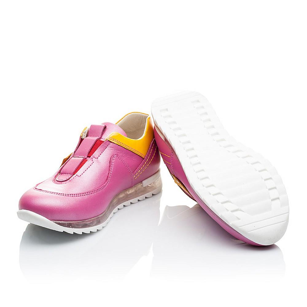 Детские кроссовки Woopy Orthopedic розовые для девочек натуральная кожа размер 21-36 (2186) Фото 2
