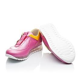 Детские кроссовки Woopy Orthopedic розовые для девочек натуральная кожа размер 21-22 (2186) Фото 2
