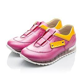 Детские кроссовки Woopy Orthopedic розовые для девочек натуральная кожа размер 21-22 (2186) Фото 3