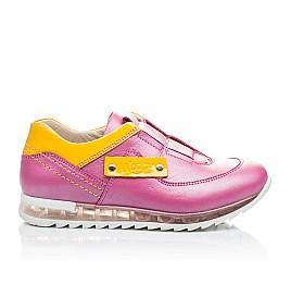 Детские кроссовки Woopy Orthopedic розовые для девочек натуральная кожа размер 21-22 (2186) Фото 4