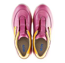 Детские кроссовки Woopy Orthopedic розовые для девочек натуральная кожа размер 21-22 (2186) Фото 5