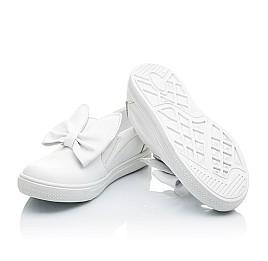 Детские слипоны Woopy Orthopedic белые для девочек натуральная кожа размер 23-23 (2194) Фото 2