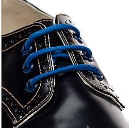 Детские закрытые туфли Woopy Orthopedic черные для девочек натуральная лаковая кожа размер - (2206) Фото 4