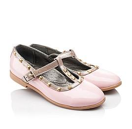 Детские туфлі Woopy Orthopedic розовые для девочек натуральная лаковая кожа размер 26-26 (2224) Фото 1