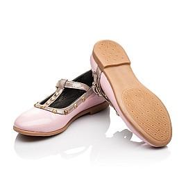 Детские туфлі Woopy Orthopedic розовые для девочек натуральная лаковая кожа размер 26-26 (2224) Фото 2