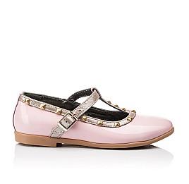 Детские туфлі Woopy Orthopedic розовые для девочек натуральная лаковая кожа размер 26-26 (2224) Фото 4