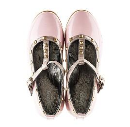 Детские туфлі Woopy Orthopedic розовые для девочек натуральная лаковая кожа размер 26-26 (2224) Фото 5