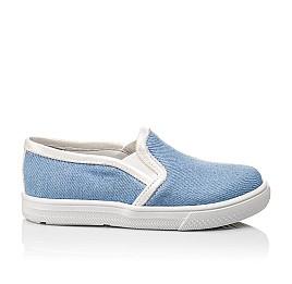 Детские слипоны Woopy Orthopedic голубые для девочек современный текстиль размер 23-23 (2232) Фото 4