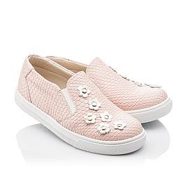 Детские слипоны Woopy Orthopedic розовые для девочек современный текстиль размер - (2239) Фото 1