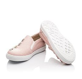 Детские слипоны Woopy Orthopedic розовые для девочек современный текстиль размер - (2239) Фото 2
