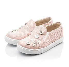 Детские слипоны Woopy Orthopedic розовые для девочек современный текстиль размер - (2239) Фото 3