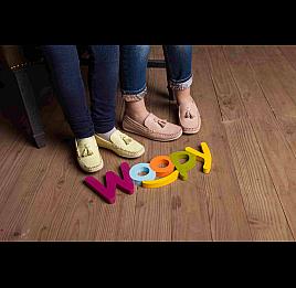 Детские слипоны Woopy Orthopedic розовые для девочек современный текстиль размер - (2239) Фото 6