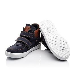 Детские ботинки Woopy Orthopedic синие для мальчиков натуральный нубук размер - (2241) Фото 2