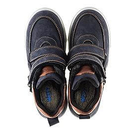 Детские ботинки Woopy Orthopedic синие для мальчиков натуральный нубук размер - (2241) Фото 5