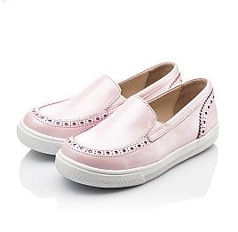 Детские слипоны Woopy Orthopedic розовые для девочек натуральная кожа размер - (2242) Фото 2