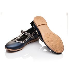 Детские туфлі Woopy Orthopedic синие для девочек натуральная кожа размер 26-26 (2263) Фото 2