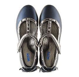 Детские туфлі Woopy Orthopedic синие для девочек натуральная кожа размер 26-26 (2263) Фото 5