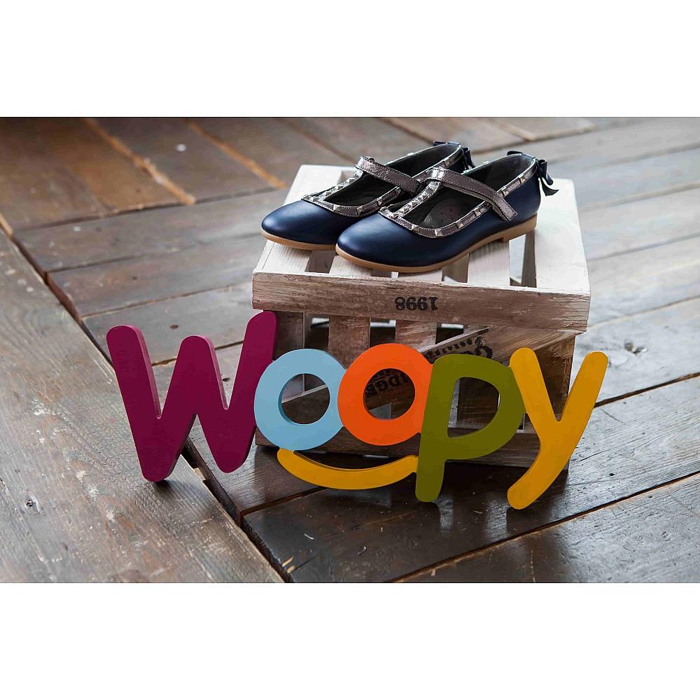 Детские туфли Woopy Orthopedic синие для девочек натуральная кожа размер 26-37 (2263) Фото 6