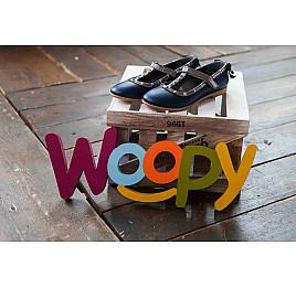 Детские туфлі Woopy Orthopedic синие для девочек натуральная кожа размер 26-26 (2263) Фото 6