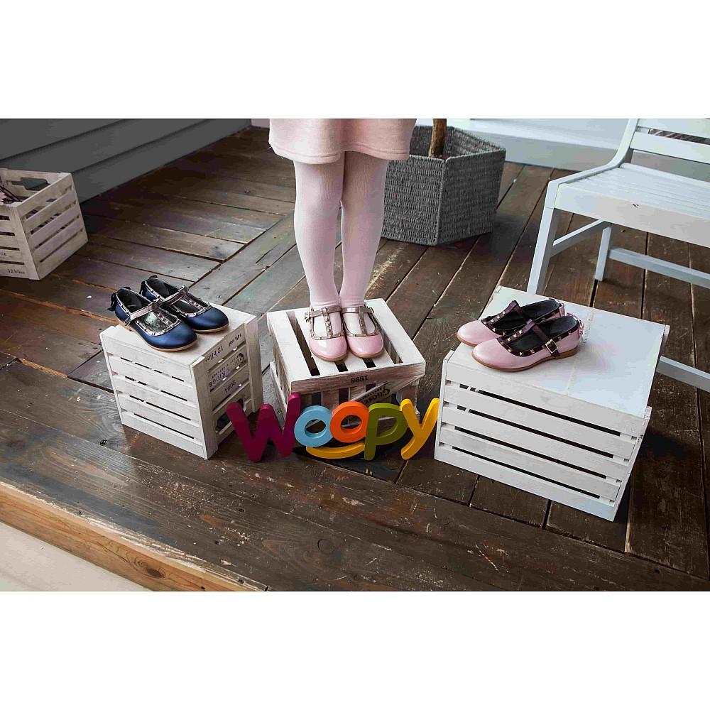 Детские туфли Woopy Orthopedic синие для девочек натуральная кожа размер 26-37 (2263) Фото 7