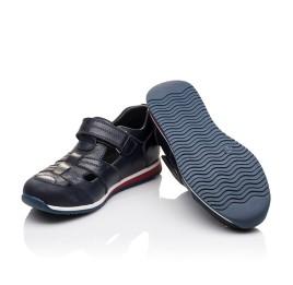 Детские кроссовки Woopy Orthopedic синие для мальчиков натуральная кожа размер - (2264) Фото 2