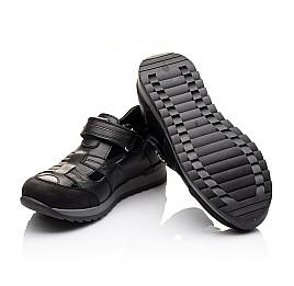 Детские кроссовки Woopy Orthopedic черные для мальчиков натуральная кожа размер - (2271) Фото 2