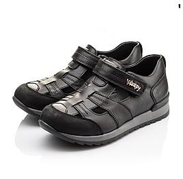 Детские кроссовки Woopy Orthopedic черные для мальчиков натуральная кожа размер - (2271) Фото 3