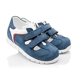 Детские кроссовки Woopy Orthopedic синие для мальчиков натуральный нубук размер - (2280) Фото 1