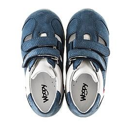 Детские кроссовки Woopy Orthopedic синие для мальчиков натуральный нубук размер - (2280) Фото 5