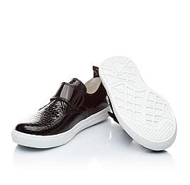Детские туфли Woopy Orthopedic черный для девочек натуральная лаковая кожа размер - (2296) Фото 2